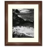 """Frames By Mail 8"""" x 10"""" Traditional Walnut Picture Frame Wood in Brown, Size 8.0 H x 10.0 W x 0.75 D in 