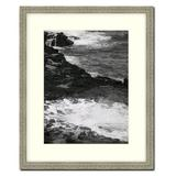 """Frames By Mail 16"""" x 20"""" Frame in Distressed Silver Ornate Wood in Brown/Gray, Size 17.5 H x 21.5 W x 1.0 D in 