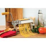Fox Run Brands Manual Pasta Maker w/ 1 Attachment Metal in Gray, Size 6.25 H x 8.25 W x 7.75 D in   Wayfair 57666
