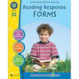 Classroom Complete Press Reading Response Forms Grade 3-4 Book, Size 8.5 H x 11.0 W x 0.3 D in   Wayfair CCP1107