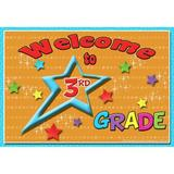 Top Notch Teacher Products Welcome to 3rd Grade, Size 6.0 H x 4.12 W x 0.4 D in | Wayfair TOP5119