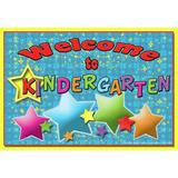 Top Notch Teacher Products Welcome to Kindergarten Postcard, Size 4.3 H x 6.0 W x 0.4 D in | Wayfair TOP5116