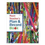 Hayes School Publishing Teacher's Plan & Record Book, Size 10.9 H x 8.3 W x 0.4 D in   Wayfair H-TDP408