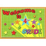 Top Notch Teacher Products Welcome to 4th Grade Postcard, Size 4.2 H x 6.0 W x 0.3 D in | Wayfair TOP5120