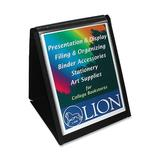 Lion Office Products Flipchart Easel Paper/Plastic, Size 0.7 H x 10.1 W x 12.4 D in | Wayfair 39009