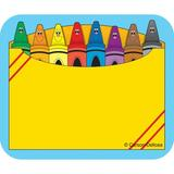 Frank Schaffer Publications/Carson Dellosa Publications Crayon Box Name Tag, Size 2.5 H x 3.0 W x 0.37 D in | Wayfair CD-9412