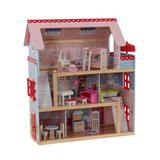 KidKraft Chelsea Dollhouse Manufactured Wood in Brown, Size 27.94 H x 13.0 W x 24.75 D in   Wayfair 65054