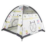 Pacific Play Tents Space Module Play Tent w/ Carrying Bag Polyester in Gray, Size 42.0 H x 48.0 W x 48.0 D in   Wayfair 40250