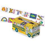 Pacon Corporation Bus Reward Stickers Self Adhesive, Size 1.25 H x 1.0 W in | Wayfair PAC51450