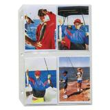 C-Line Products, Inc. Clear Photo Holders w/ 3-Hole Punched Accessory Plastic, Size 11.25 H x 8.13 W in | Wayfair CLI52584