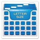 Esselte Pendaflex Corporation Oxford Decoflex Letter Size Desktop Hanging File, Plastic, 12 1/4 X 6 X 9 1/2 Polypropylene/Vinyl/PVC/Vinyl & PVC