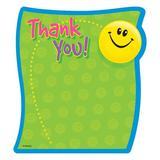 TREND enterprises, Inc. Thank You Notepad, Size 8.0 H x 6.0 W x 0.25 D in   Wayfair T-72030