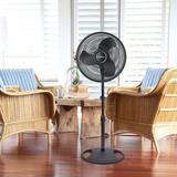 """Lasko 16"""" Oscillating Standing Fan in White, Size 47.0 H x 17.0 W in   Wayfair 2520"""