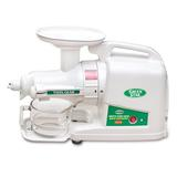 Tribest Green Star Gold Slow Masticating & Cold Press Juicer in White, Size 20.75 H x 7.75 W x 13.25 D in | Wayfair GP-E1503