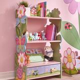 "Fantasy Fields Magic Garden 38"" Bookcase Wood in Brown/Green/Pink, Size 38.0 H x 22.0 W x 11.5 D in | Wayfair W-7500A"