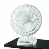 Lasko Personal Fan in White, Size 9.3 H x 6.4 W x 7.9 D in   Wayfair 2002W