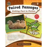 Teacher Created Resources Paired Passages Linking Fact to Book, Size 11.0 H x 8.5 W x 0.25 D in   Wayfair TCR2917