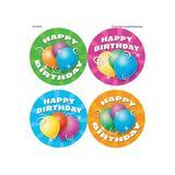Teacher Created Resources Birthday Wear Em Badges, Size 5.25 H x 7.25 W x 0.06 D in   Wayfair TCR4054