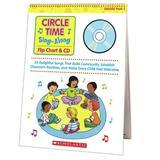 Scholastic Circle Time Sing Along Flip CD, Size 15.2 H x 20.75 W x 0.45 D in   Wayfair SC-0439635241