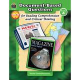 Teacher Created Resources Grade 4 Document-Based Questions for Book, Size 11.0 H x 8.5 W x 0.25 D in   Wayfair TCR8374
