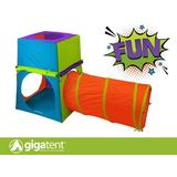 GigaTent Toddler 4.17' x 3.33' Playhouse Fabric in Blue/Green, Size 50.0 H x 40.0 W x 50.0 D in | Wayfair CT 021