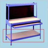 Tennsco Corp. Extra Shelves for Rivet Style Workbench, Size 2.75 H x 60.0 W x 24.0 D in   Wayfair ZHD30 -10