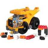 Mega Bloks CAT Large Dump Truck with Big Building Blocks, Building Toys for Toddlers (25 Pieces) [Styles May Vary]