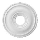 """Livex Lighting 8217 16"""" Wide Ceiling Medallion White"""
