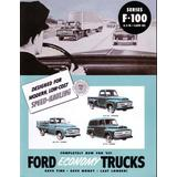 1953 FORD F100 TRUCK Sales Brochure Literature Book
