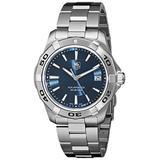 TAG Heuer Men's WAP1112.BA0831 Aquaracer Stainless Steel Blue Dial Watch
