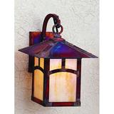 Arroyo Craftsman Evergreen 13 Inch Tall 1 Light Outdoor Wall Light - EB-9A-OF-MB