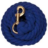 Weaver Leather Cotton Lead Rope, Blue , 10'