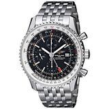 Breitling Men's BTA2432212-B726SS Navitimer World Chronograph Watch
