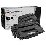 LD © Remanufactured Replacement for Hewlett Packard CE255A (HP 55A) Black Laser Toner Cartridge for use in HP LaserJet, LaserJet Enterprise, and LaserJet Pro Series Printers