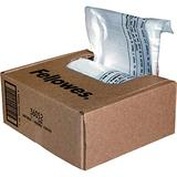 Fellowes Powershred Shredder Bags for All Personal Models, 100 Bags & Ties (36052)