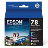 Epson T078920 Claria Hi-Definition 78 Standard-capacity Inkjet Cartridge Color Multipack -1 Cyan/1 Light Cyan/1 Magenta/1 Light Magenta/1 Yellow