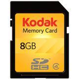 Kodak SDHC 8GB Class 4 Flash Memory Card KSD8GBPSBNA