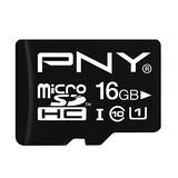 PNY 16 GB microSDHC Flash Memory Card P-SDU16G10-GE
