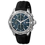 TAG Heuer Men's CAP2112.FT6028 Aquaracer Blue Chronograph Dial Watch