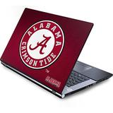 Skinit Decal Laptop Skin Compatible with Generic 17in Laptop (15.2in X 9.9in) - Officially Licensed College University of Alabama Seal Design