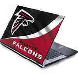 Skinit Decal Laptop Skin Compatible with Generic 17in Laptop (15.2in X 9.9in) - Officially Licensed NFL Atlanta Falcons Design