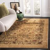 Safavieh Lyndhurst Collection LNH224A Traditional Paisley Non-Shedding Stain Resistant Living Room Bedroom Area Rug, 4' x 6', Beige / Multi
