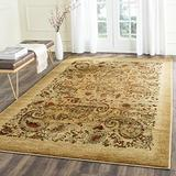Safavieh Lyndhurst Collection LNH224A Traditional Paisley Non-Shedding Stain Resistant Living Room Bedroom Area Rug, 6' x 6' Square, Beige / Multi