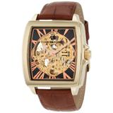 Charles-Hubert, Paris Men's 3888-A Premium Collection Gold-Plated Stainless Steel Automatic Watch