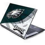 Skinit Decal Laptop Skin Compatible with Generic 17in Laptop (15.2in X 9.9in) - Officially Licensed NFL Philadelphia Eagles Design