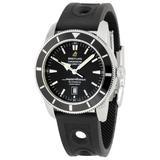 Breitling Men's A1732024/B868 SuperOcean Heritage Black Dial Watch