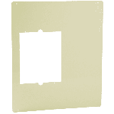 """Cadet CAM 18-1/2"""" x 22"""" Metal Adapter Plate for the Com-Pak Standard Max and Bath Series Almond"""
