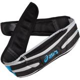 ASICS Unisex Adult Long Haul Waistpack,Black-Pac Blue,Small-Medium