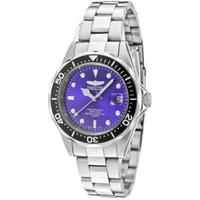 Invicta Watch Women's Pro Diver Blue Dial Stainless Steel 10664