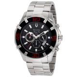 Bulova Men's 96B154 Solano Marine Star Chronograph Watch